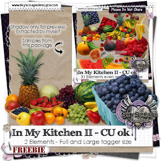 Kitchen, Spices, Food, Apples, Peppers, Fruit, Rosemary SkyScraps-IMK2-Freebie